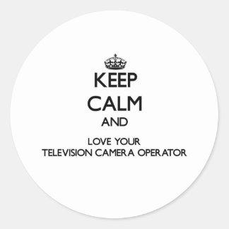 Gardez le calme et aimez votre opérateur de caméra