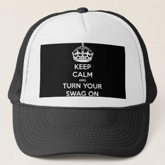 Gardez le calme et allumez votre butin casquette