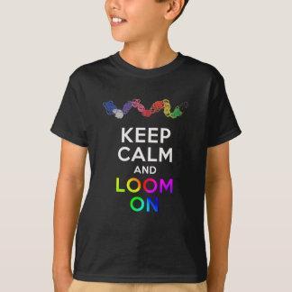 Gardez le calme et apparaissez indistinctement sur t-shirt