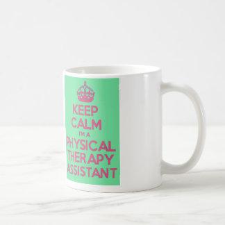 Gardez le calme et appelez l'assistant de mug
