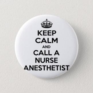 Gardez le calme et appelez un anesthésiste badges