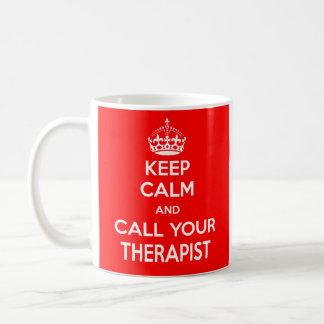 Gardez le calme et appelez votre tasse de