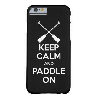 Gardez le calme et barbotez dessus coque iPhone 6 barely there