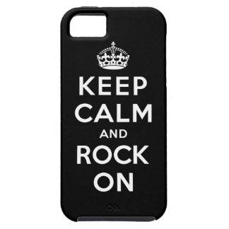 Gardez le calme et basculez dessus coque iPhone 5 Case-Mate
