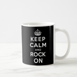 Gardez le calme et basculez dessus mug