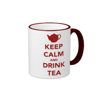 Gardez le calme et brassez une tasse de thé