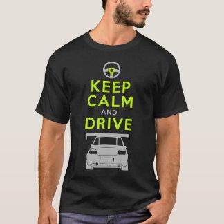 Gardez le calme et conduisez - Impreza- /version4 T-shirt