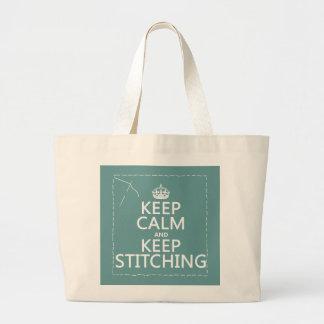 Gardez le calme et continuez à piquer (toutes les grand sac