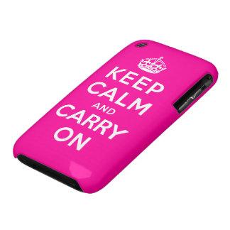 Gardez le calme et continuez coque iPhone 3