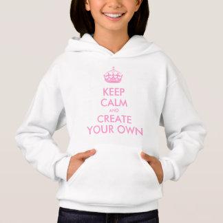 Gardez le calme et continuez créent votre propre