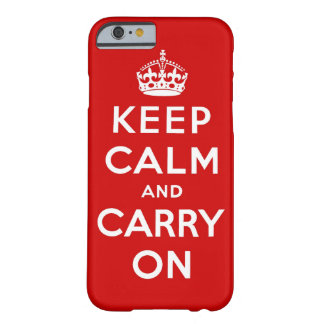 gardez le calme et continuez l original coque iPhone 6 slim