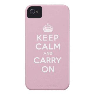 Gardez le calme et continuez le persan s'est levé coques iPhone 4 Case-Mate