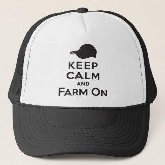 Gardez le calme et cultivez dessus - le casquette
