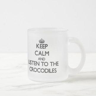 Gardez le calme et écoutez les crocodiles