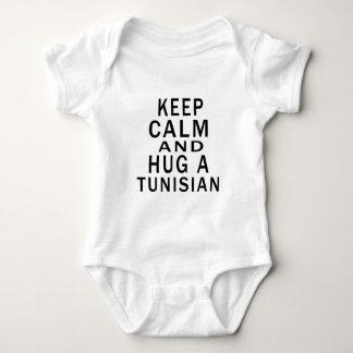 Gardez le calme et étreignez un Tunisien Body