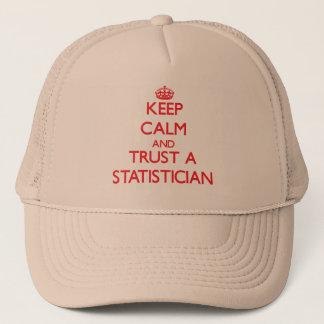 Gardez le calme et faites confiance à un casquette