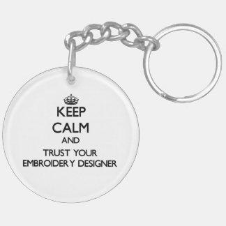 Gardez le calme et faites confiance à votre porte-clés