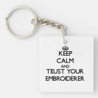 Gardez le calme et faites confiance à votre porte-clef