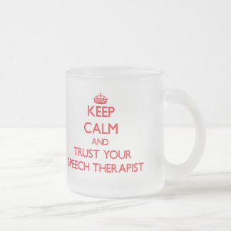 Gardez le calme et faites confiance à votre tasse givré