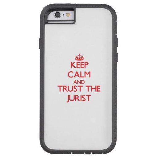 Gardez le calme et faites confiance au juriste coque iPhone 6 tough xtreme