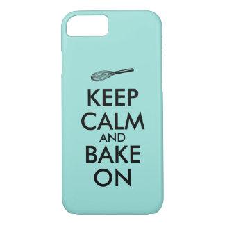 Gardez le calme et faites cuire au four sur le coque iPhone 7
