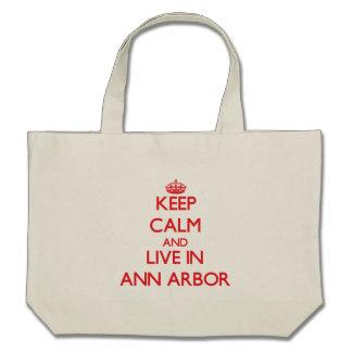 Gardez le calme et habitez à Ann Arbor Sac