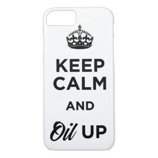 Gardez le calme et huilez coque iPhone 7