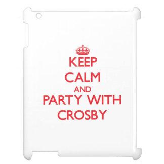 Gardez le calme et la partie avec Crosby Étuis iPad