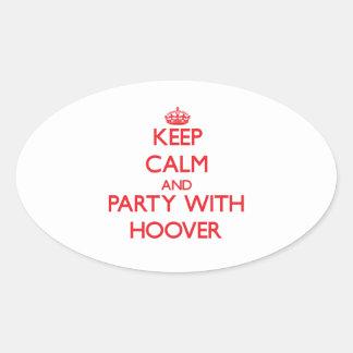 Gardez le calme et la partie avec Hoover Adhésifs