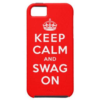 Gardez le calme et le butin dessus coques Case-Mate iPhone 5