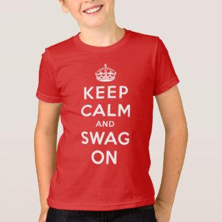Gardez le calme et le butin dessus t-shirt