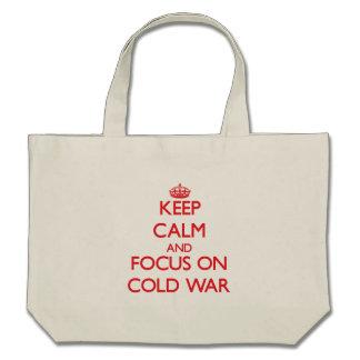 Gardez le calme et le foyer sur la guerre froide sac