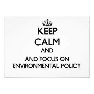 Gardez le calme et le foyer sur la politique de bristol personnalisé