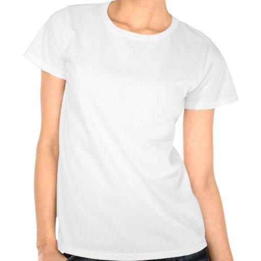 Gardez le calme et le foyer sur le sourire t-shirt
