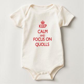 Gardez le calme et le foyer sur Quolls Body