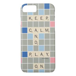 Gardez le calme et le jeu dessus coque iPhone 7