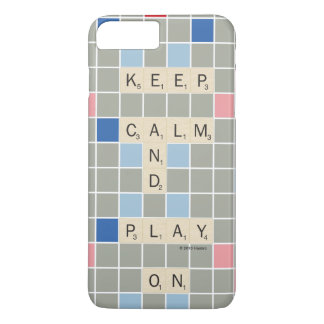 Gardez le calme et le jeu dessus coque iPhone 8 plus/7 plus