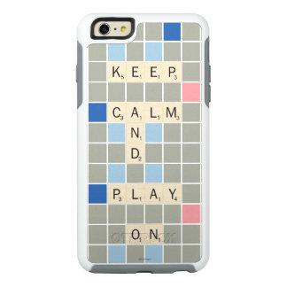 Gardez le calme et le jeu dessus coque OtterBox iPhone 6 et 6s plus