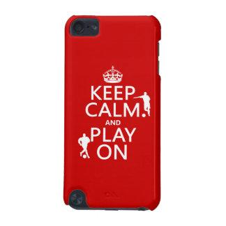 Gardez le calme et le jeu sur (le coque iPod touch 5G
