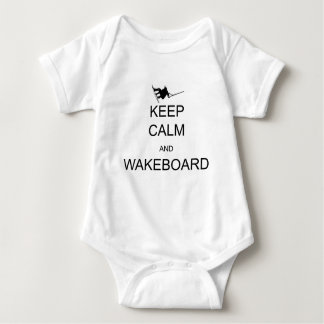 gardez le calme et le wakeboard body