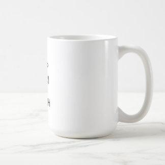 Gardez le calme et l'enseignez dessus mug