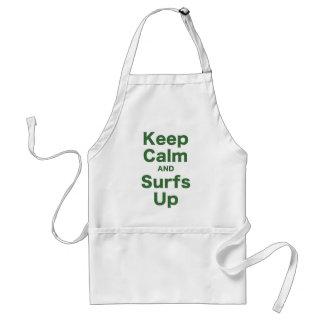 Gardez le calme et les ressacs tablier