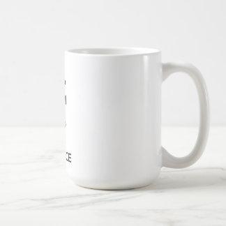 Gardez le calme et maintenez-le dans l'équilibre mug