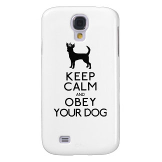 Gardez le calme et obéissez votre chien