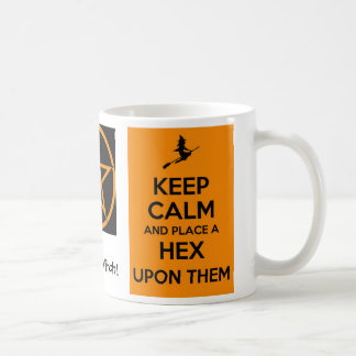 Gardez le calme et placez un sortilège sur eux mug