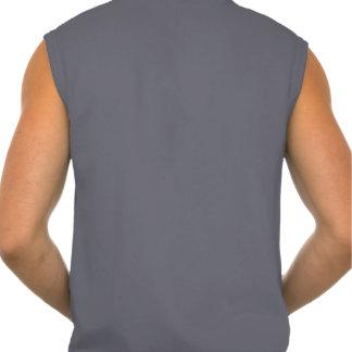 Gardez le calme et pompez la forme physique de fer t-shirt