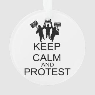Gardez le calme et protestez
