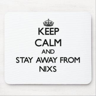 Gardez le calme et restez à partir de Nixs Tapis De Souris