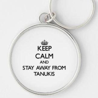 Gardez le calme et restez à partir de Tanukis