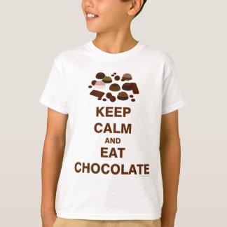 Gardez le calme et t-shirt